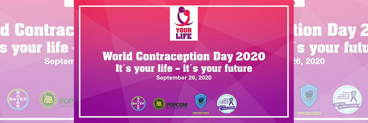 world contraception Day 2020 banner